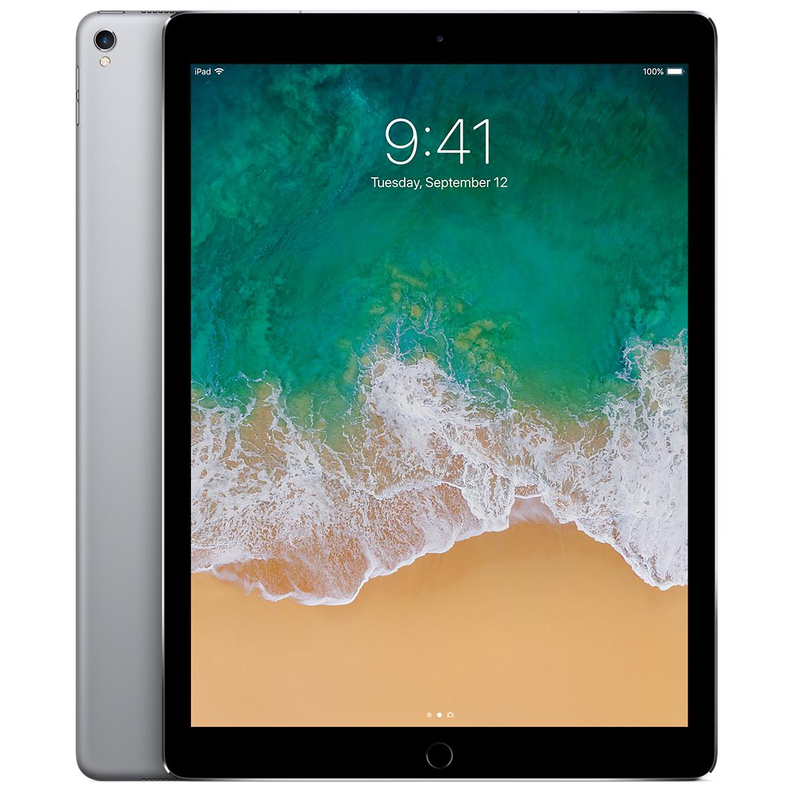 Refurbished 12 9 Inch Ipad Pro Wi Fi Cellular 64gb Space Gray 2nd Generation Apple