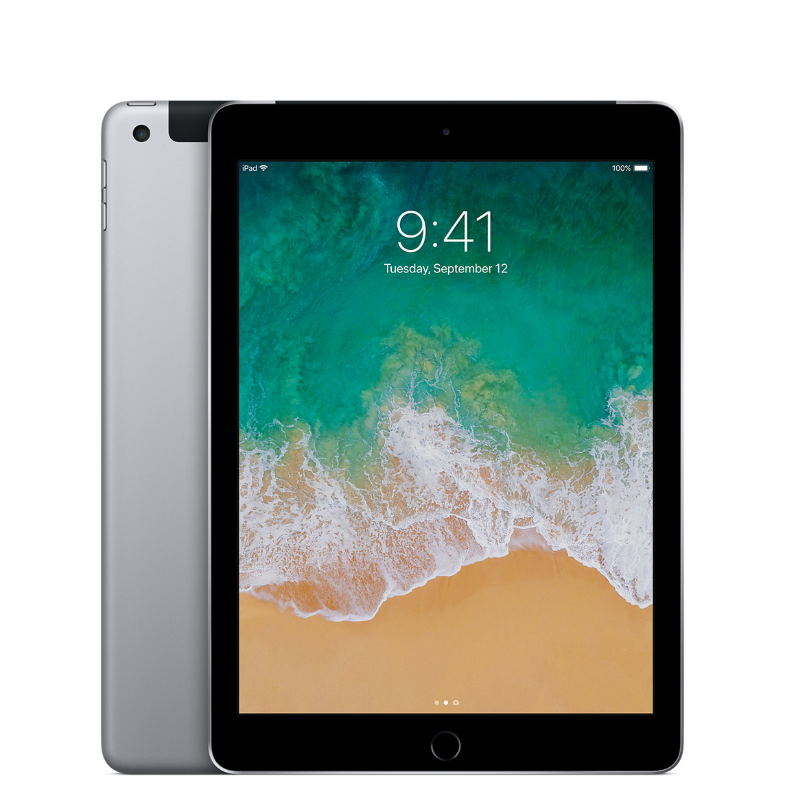 Refurbished iPad Wi-Fi + Cellular 32GB - Space Gray (5th generation)
