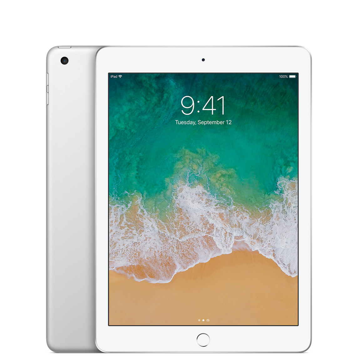 Refurbished iPad Wi-Fi 128GB - Silver (5th generation)