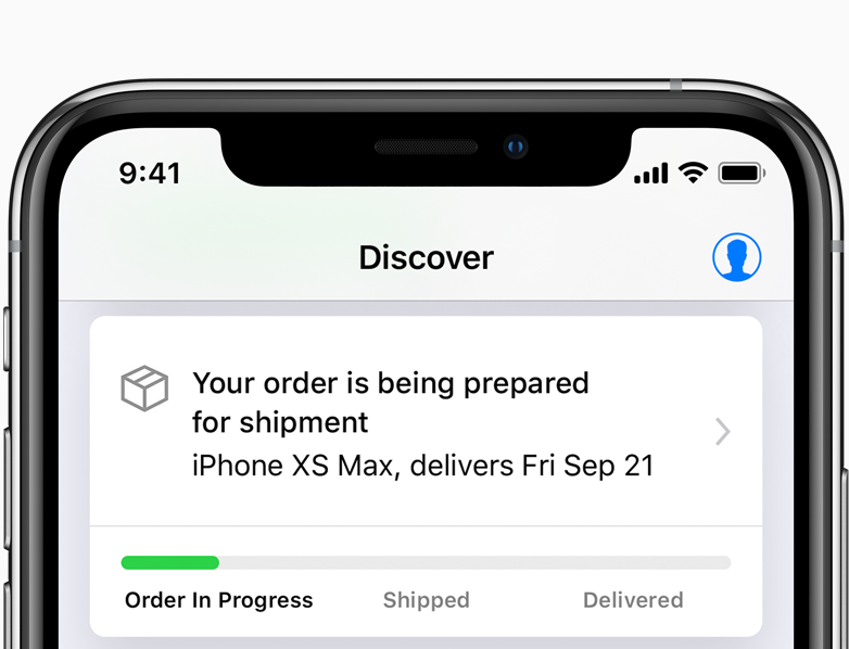 Delivery and Pickup - Apple