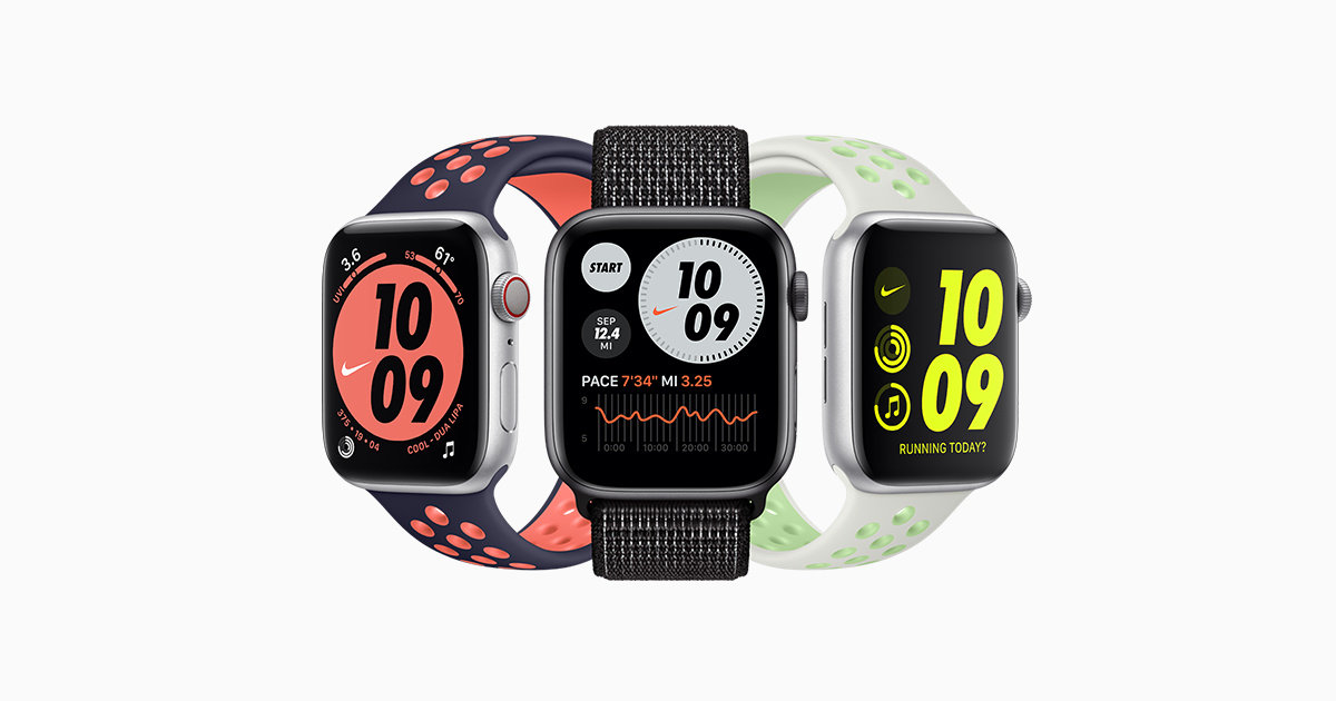 acción cubrir bicicleta  Buy Apple Watch Nike - Apple