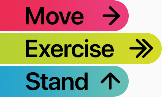 Move, Exercise, Stand