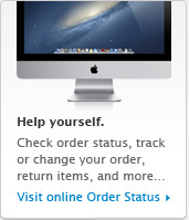 Help yourself. Track your order, check order status, change payment method & more... Visit Online Self Service!