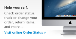 Help yourself. Track your order, check order status, change payment method & more... Visit Order Status!
