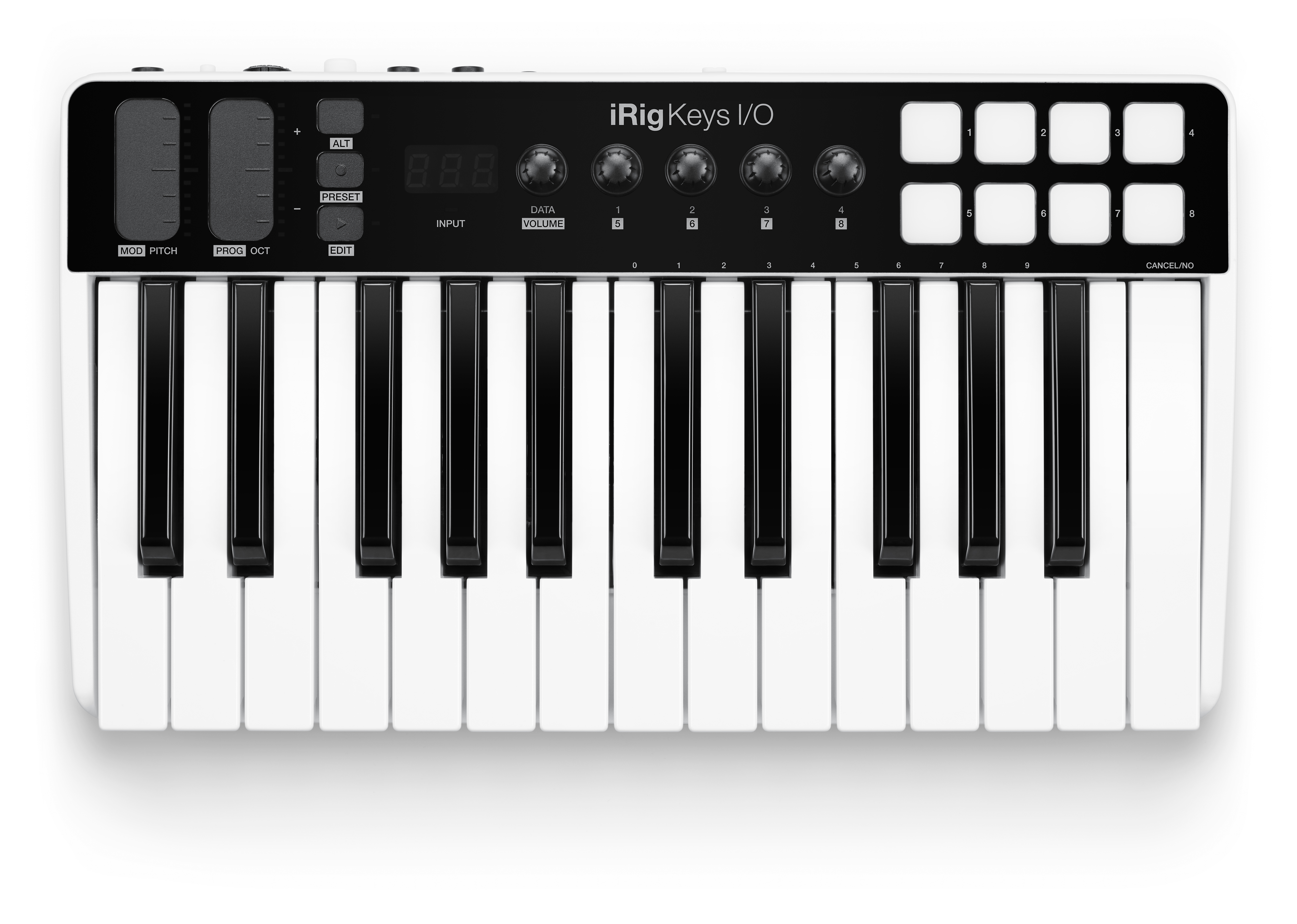IK Multimedia iRig Keys I/O 25 MIDI Controller and Audio Interface ...
