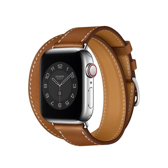 Apple(アップル)『Apple Watch Hermès(エルメス)ドゥブルトゥールレザーストラップ』