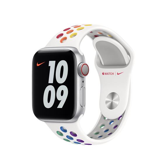 Apple(アップル)『Apple Watch Nike(ナイキ)スポーツバンド』