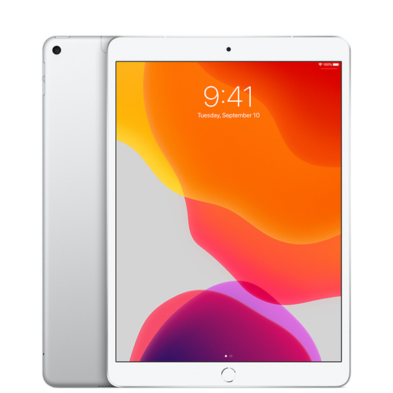iPad Air Wi-Fi + Cellularモデル 64GB - シルバー[整備済製品]