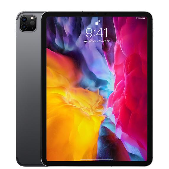 11インチiPad Pro Wi-Fi + Cellular 128GB - スペースグレイ(第2世代) [整備済製品]