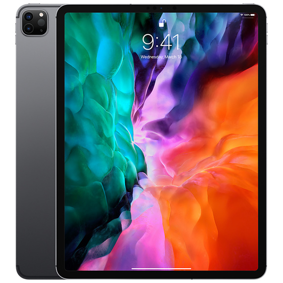 12.9インチiPad Pro Wi-Fi + Cellular 128GB - スペースグレイ(第4世代) [整備済製品]