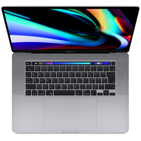 16インチMacBook Pro 2.4GHz 8コアIntel Core i9 AMD Radeon Pro 5600MおよびRetinaディスプレイ搭載モデル - スペースグレイ [整備済製品]