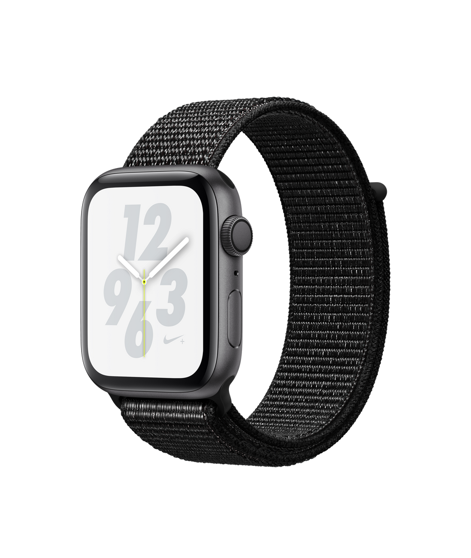 best sneakers 80466 80496 Apple Watch Nike+ Series 4 GPS, 44mm Space Grey Aluminium Case with Black  Nike Sport Loop