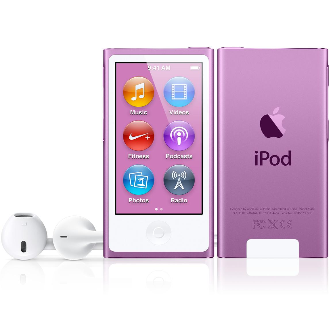 Refurbished iPod nano 16GB - Purple (7th generation)