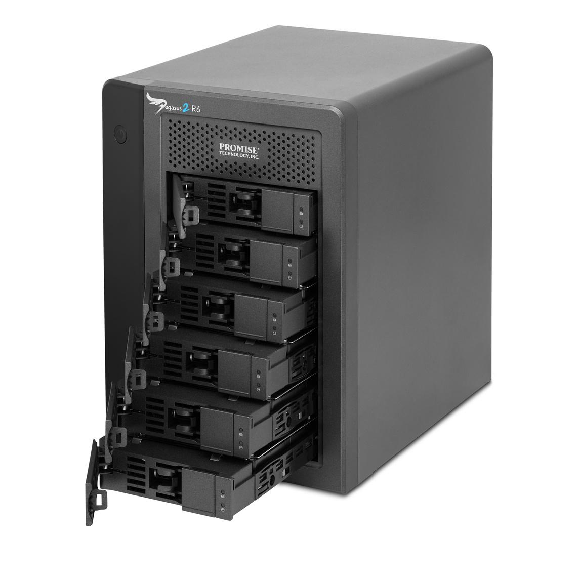 PROMISE Pegasus2 R6 18TB (6 x 3TB) Thunderbolt 2 RAID System
