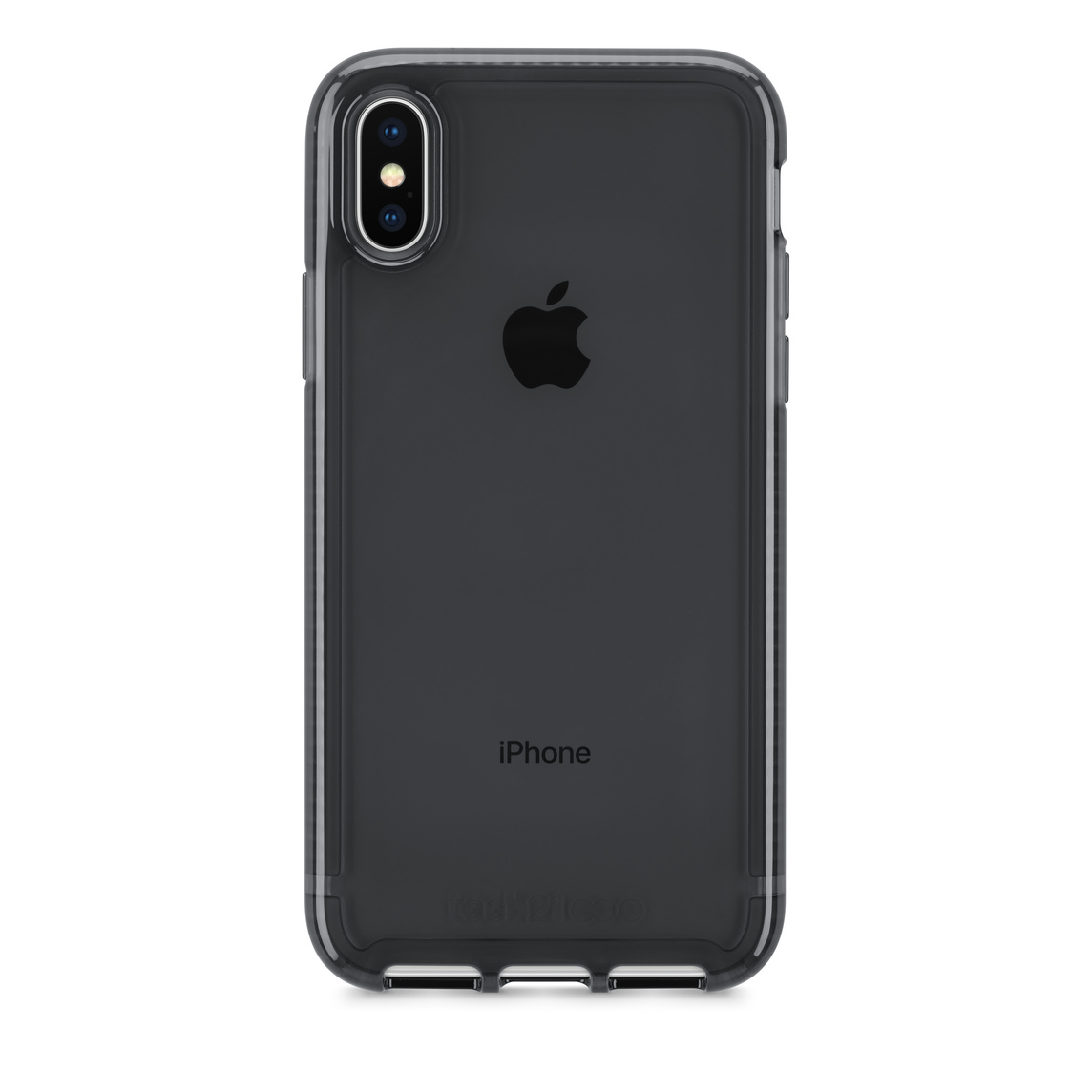 sale retailer c8e93 fa07f Tech21 Pure Clear Case for iPhone X - Gray - Apple (NZ)