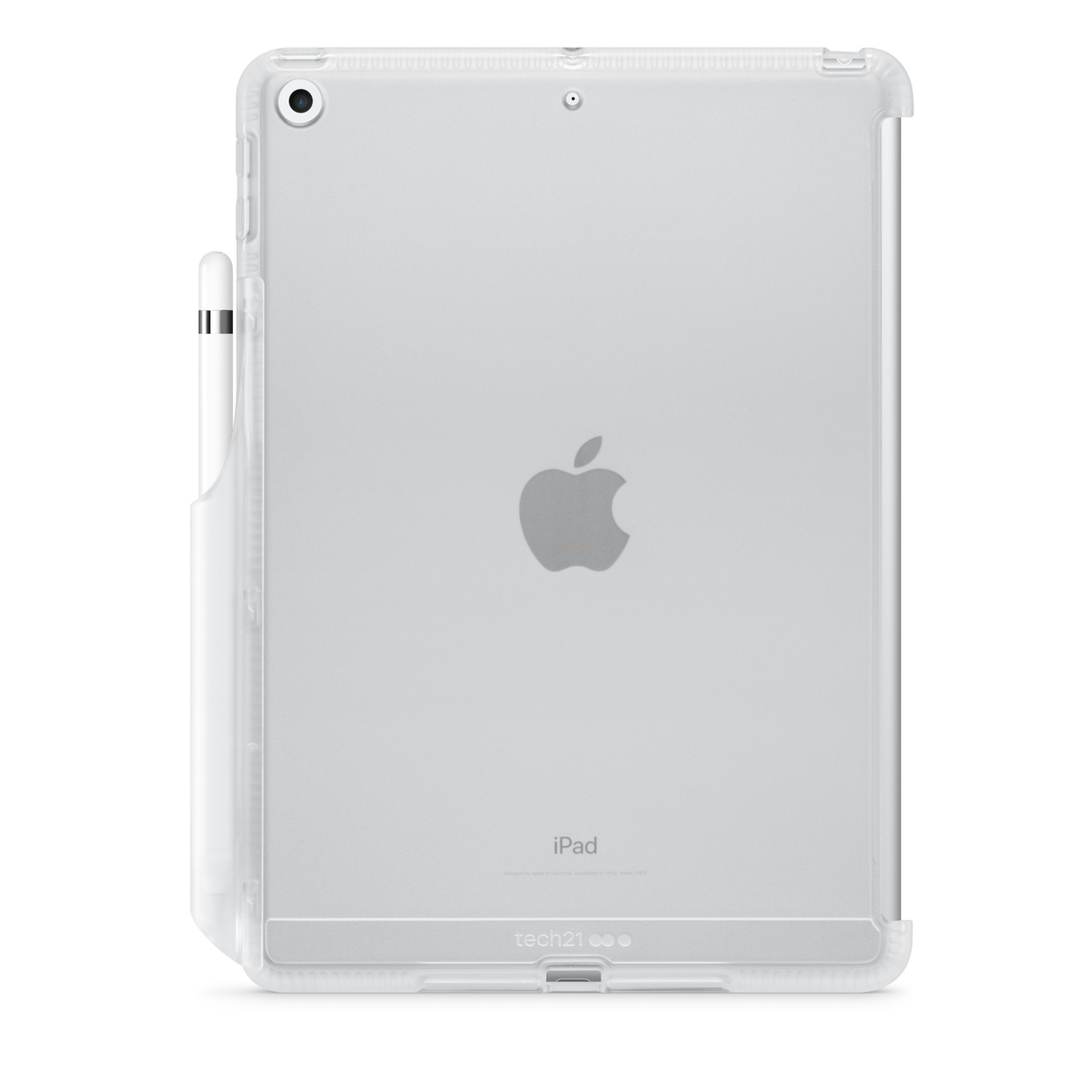 best service bdccb ac039 Tech21 Impact Clear Case with Pencil Holder for iPad (6th & 5th Generation)