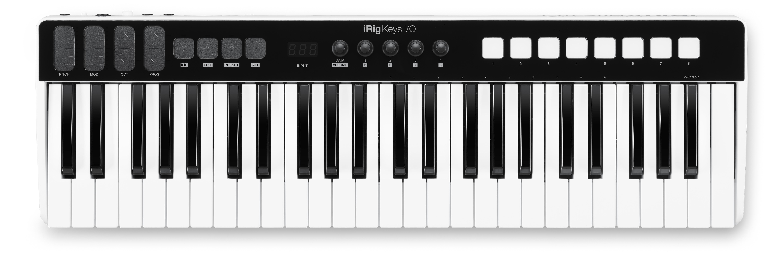 IK Multimedia iRig Keys I/O 49 MIDI Controller and Audio Interface