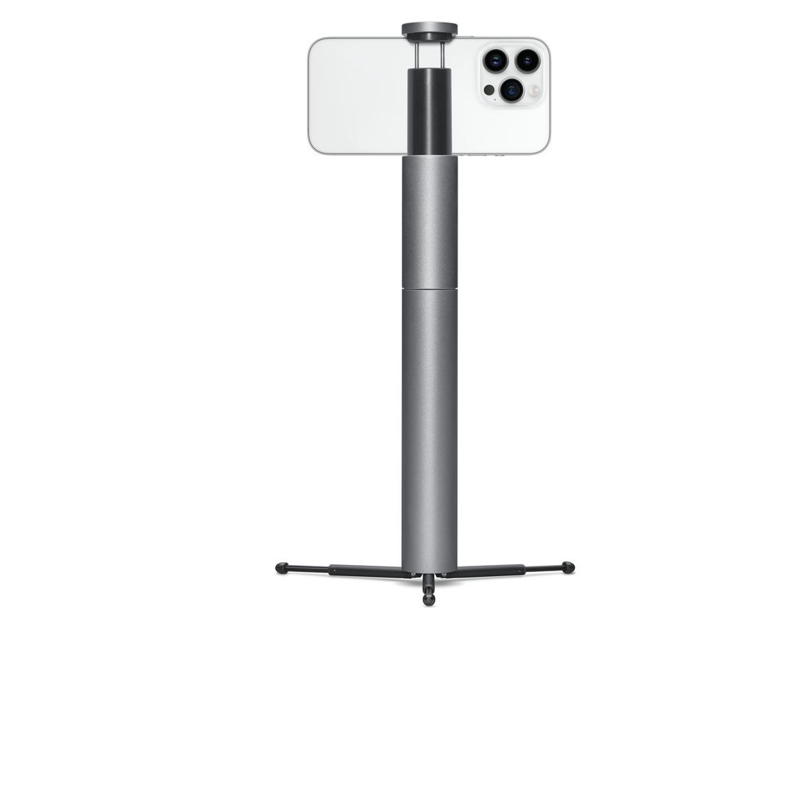 3cd1d21187e36c CliqueFie MAX Selfie Stick with Tripod - Space Gray - Apple (HK)