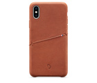 Decoded Leather Snap-On Case for iPhone XS