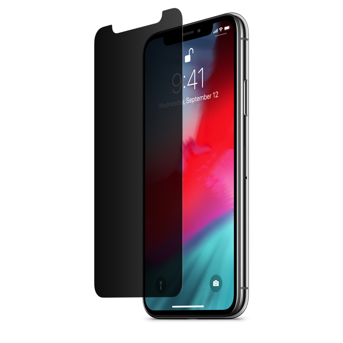 get cheap d1e11 f4b44 Belkin InvisiGlass Ultra Privacy Screen Protection for iPhone X / XS