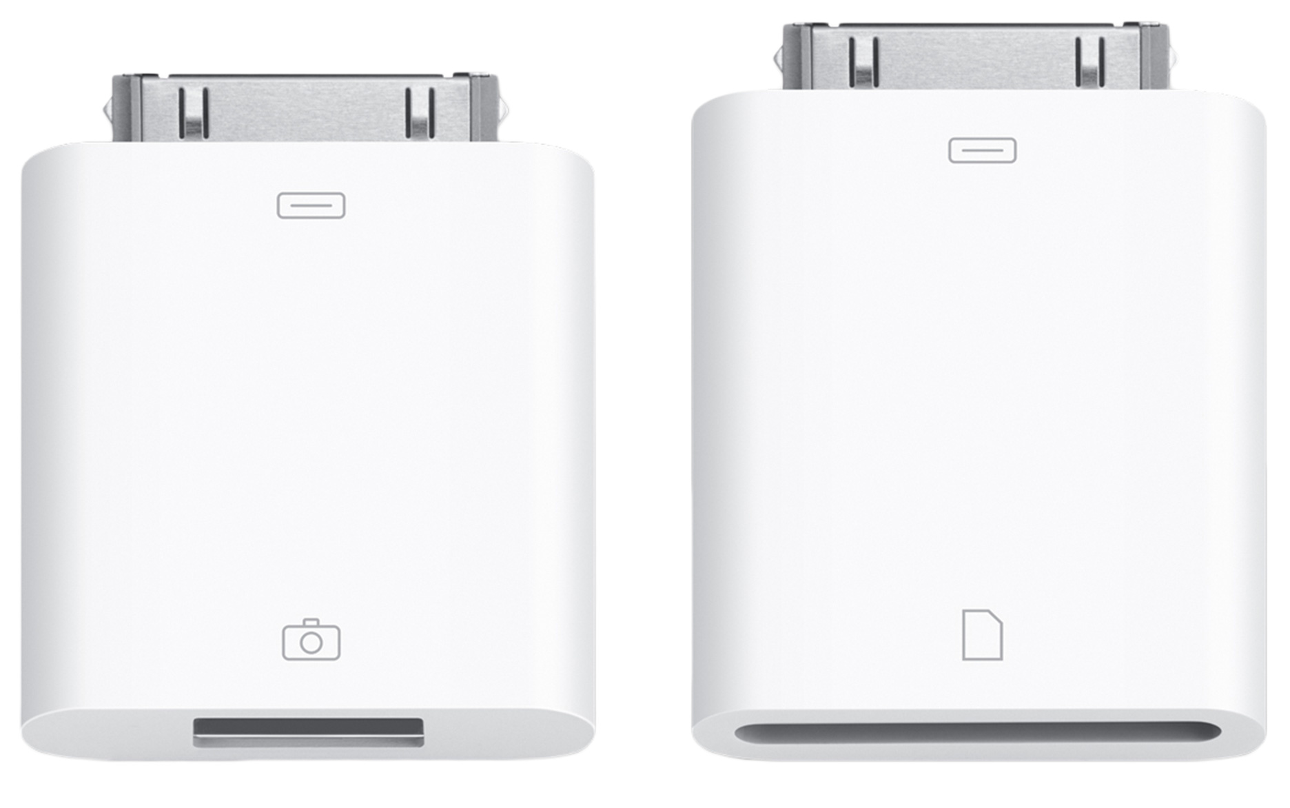White iPad  USB Adaptor Connection Port Kit for memory card or keyboard