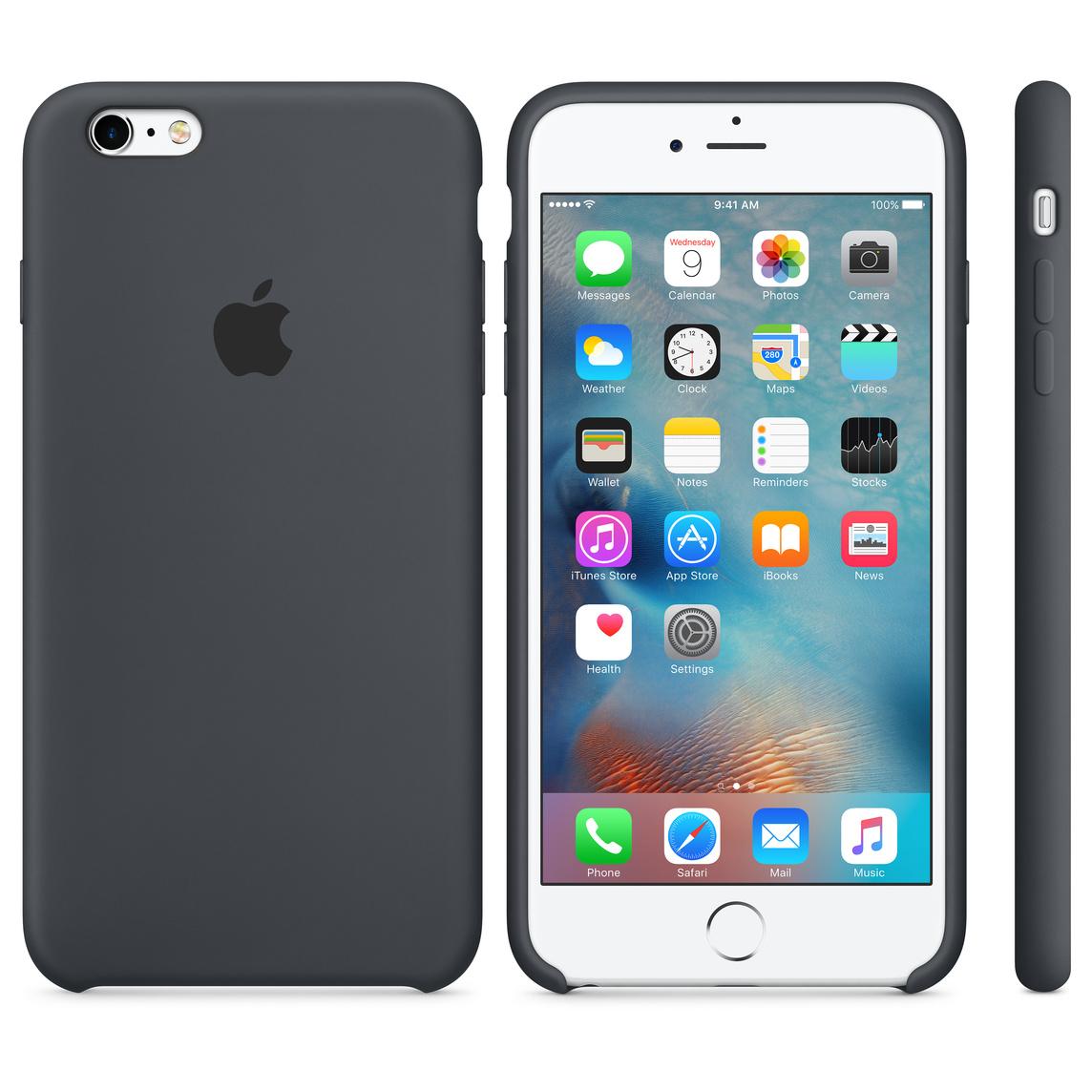 innovative design 3a59f 9e484 iPhone 6 Plus / 6s Plus Silicone Case - Charcoal Grey