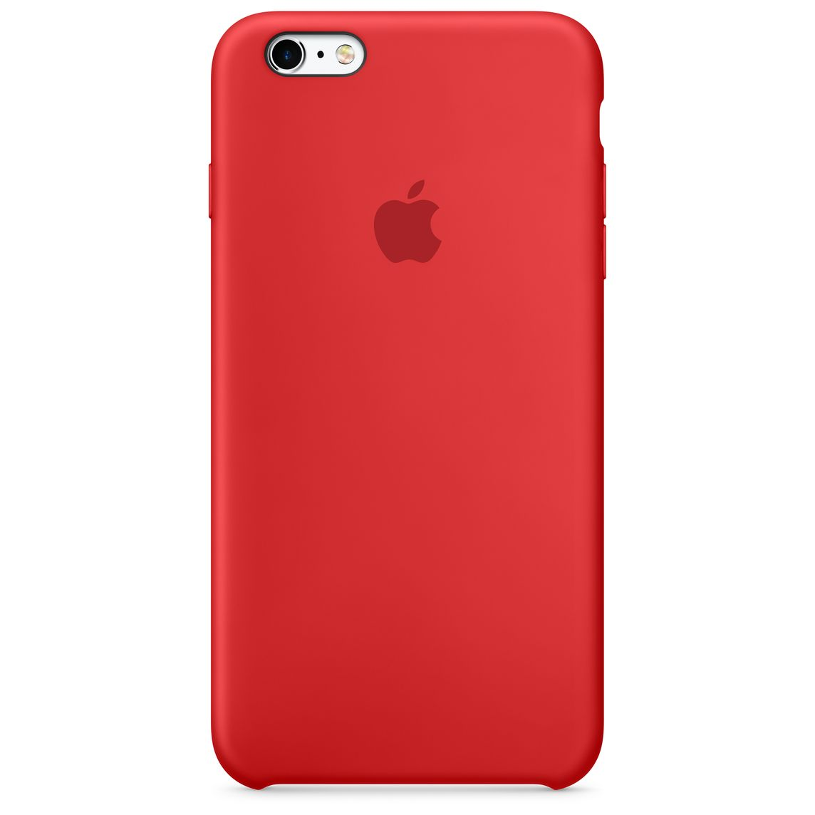 separation shoes 44bf6 ded35 iPhone 6 Plus / 6s Plus Silicone Case - (PRODUCT)RED