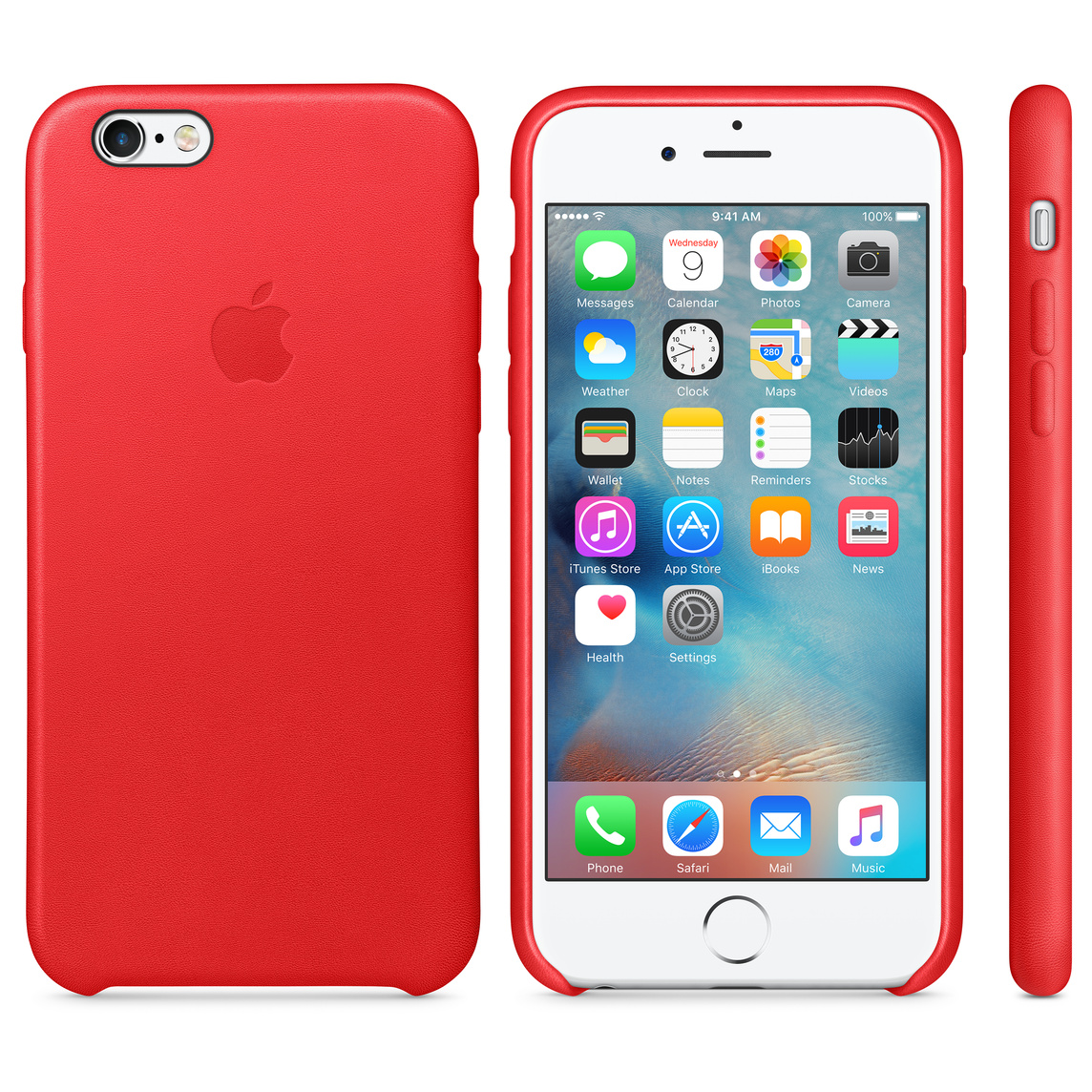 iPhone 6 / 6s Leather Case - (PRODUCT)RED