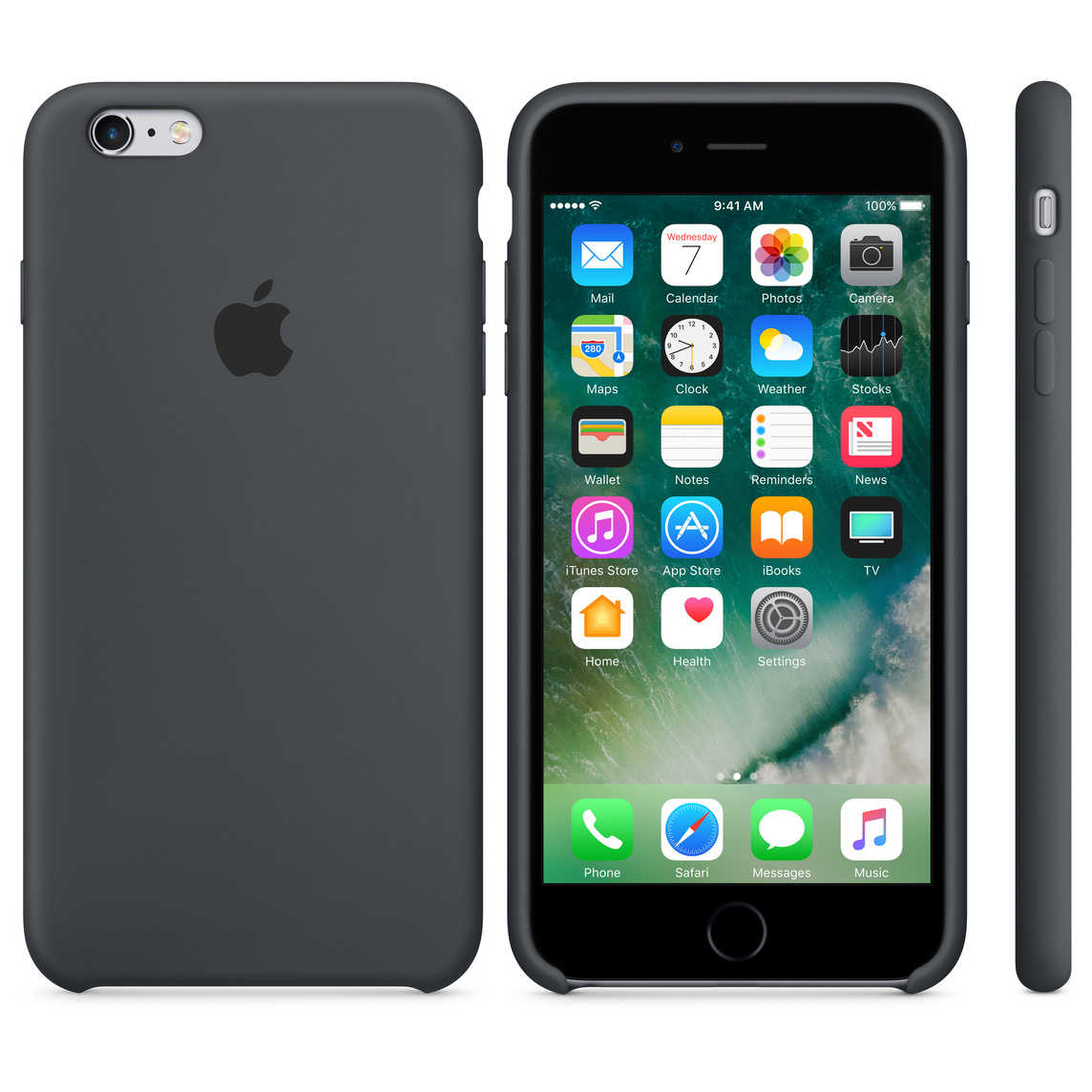 san francisco 18ff8 d974d iPhone 6 / 6s Silicone Case - Charcoal Grey