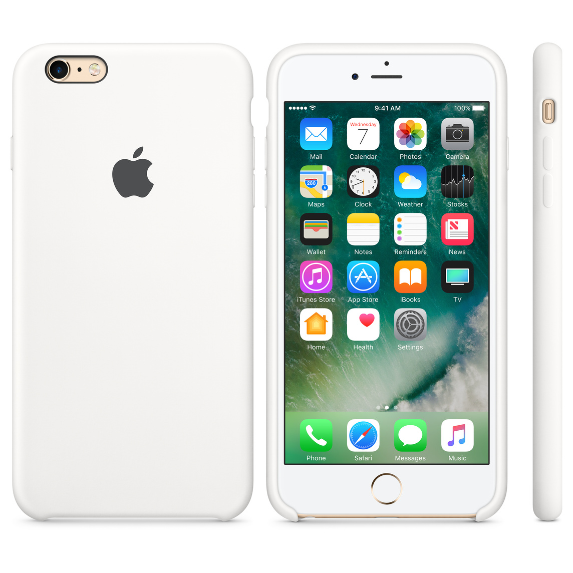online retailer 0a57a 647c7 iPhone 6 / 6s Silicone Case - White