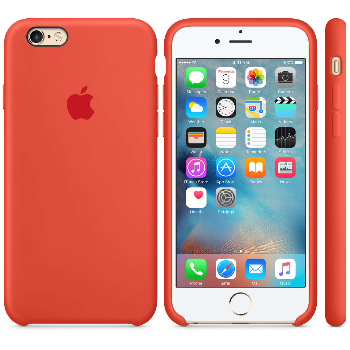 cheap for discount 473b9 7fdf0 iPhone 6 / 6s Silicone Case - Orange