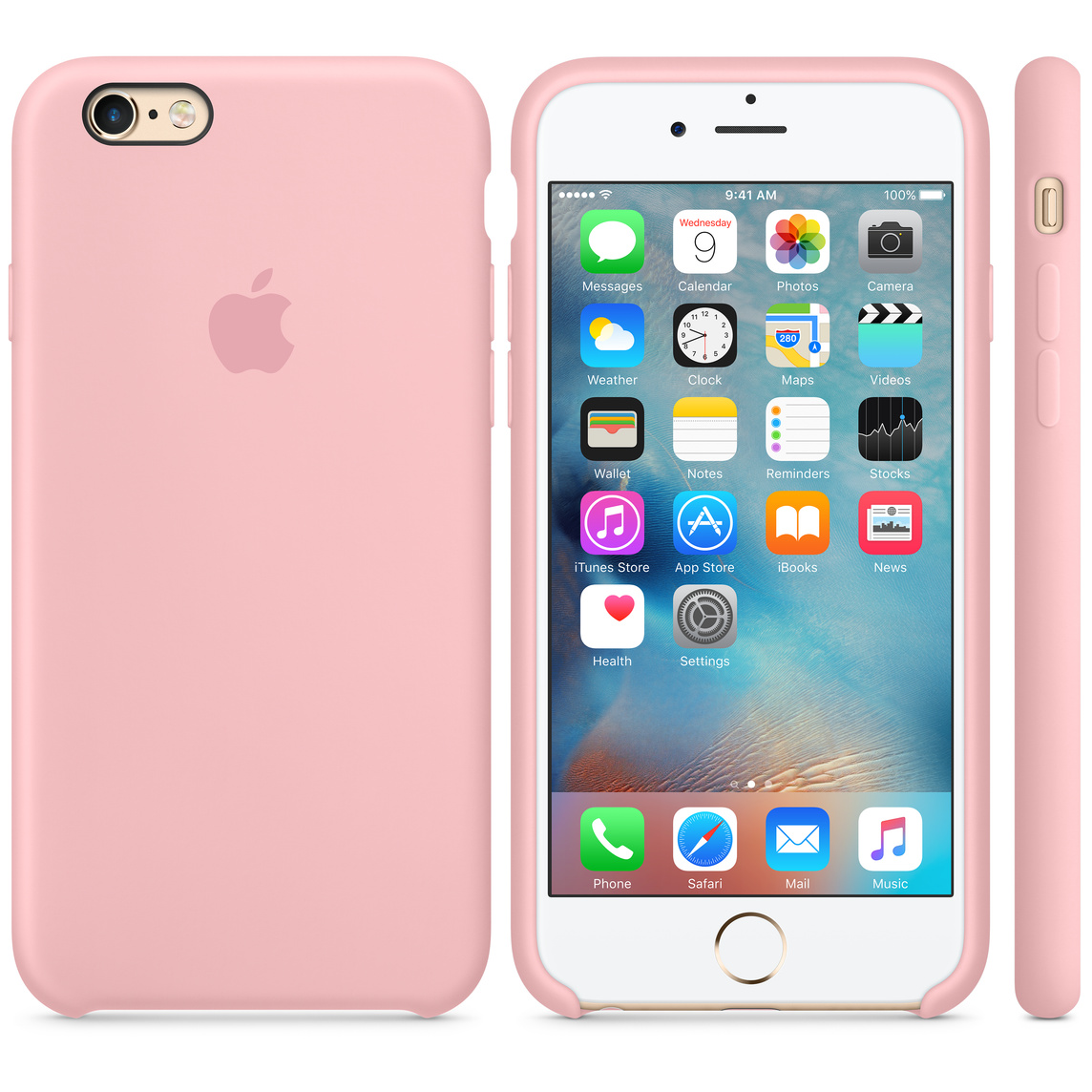 finest selection 6c3b2 ab77b iPhone 6 / 6s Silicone Case - Pink