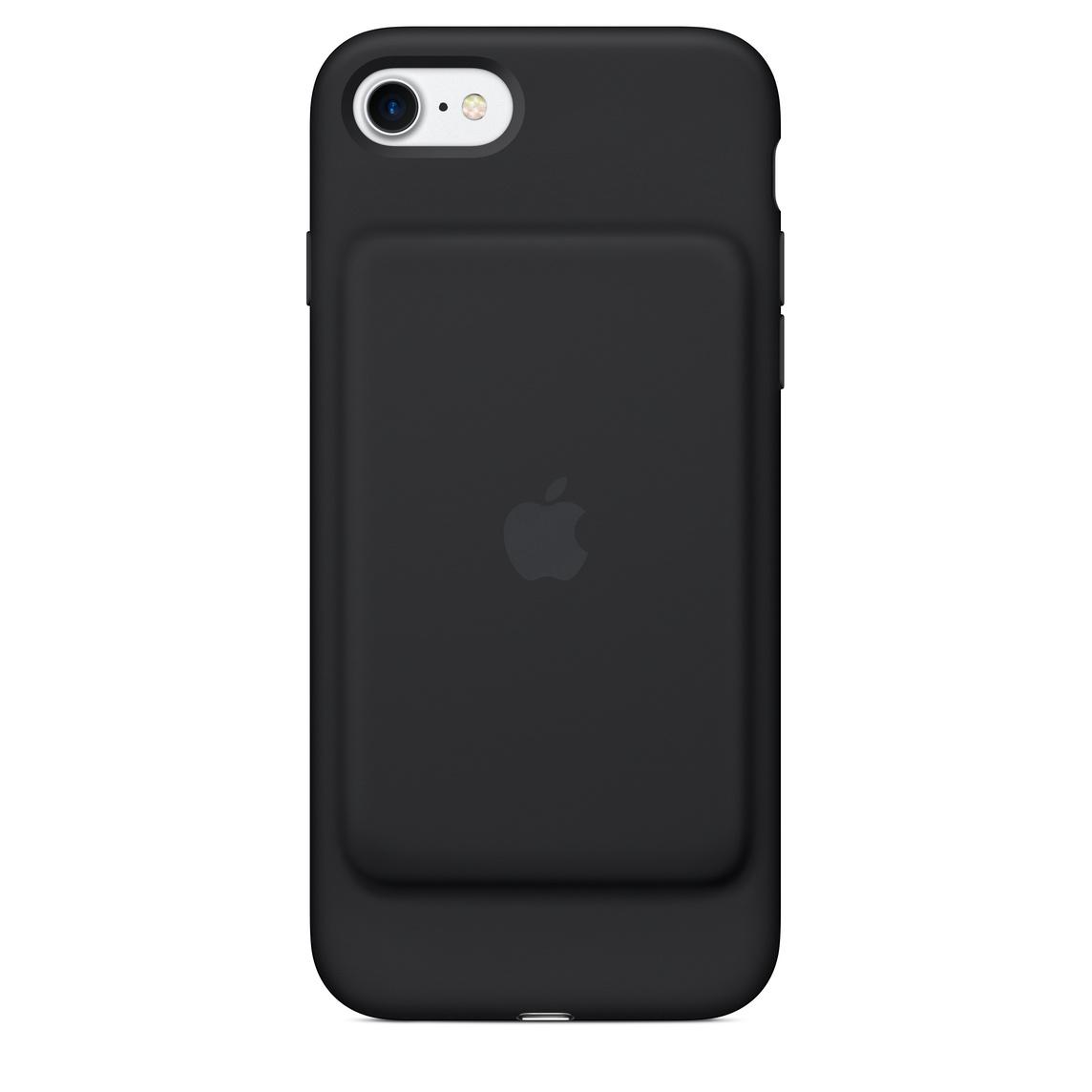 the best attitude 3a9f2 db86e iPhone 7 Smart Battery Case - Black