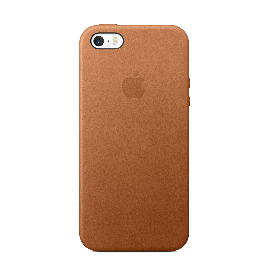super popolare d91f1 eb7b6 iPhone SE Leather Case - Saddle Brown