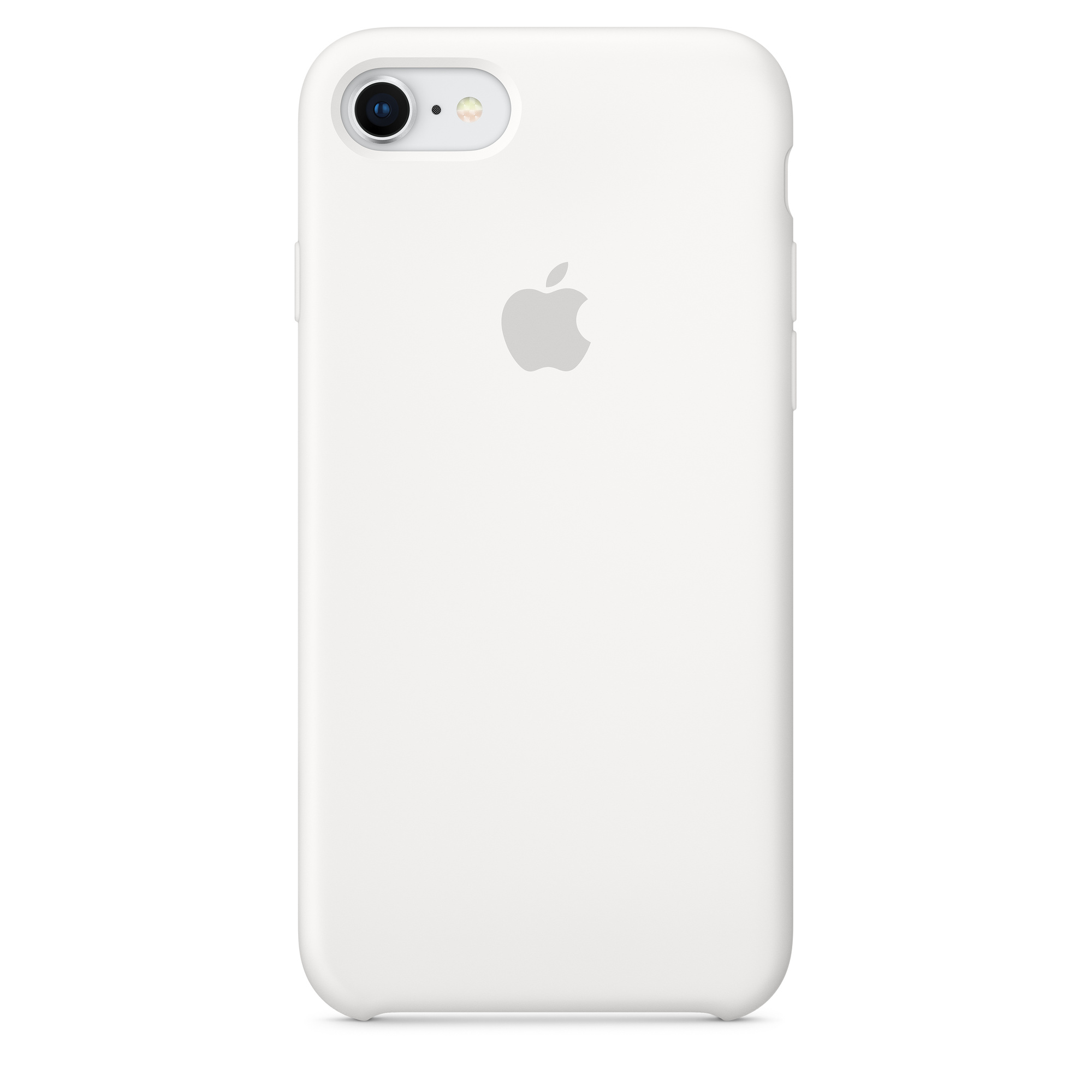 new concept ce0be 009b5 iPhone 8 / 7 Silicone Case — White