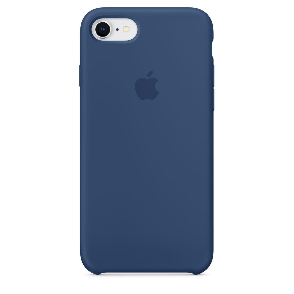 timeless design 8d883 7c15e iPhone 8 / 7 Silicone Case - Blue Cobalt
