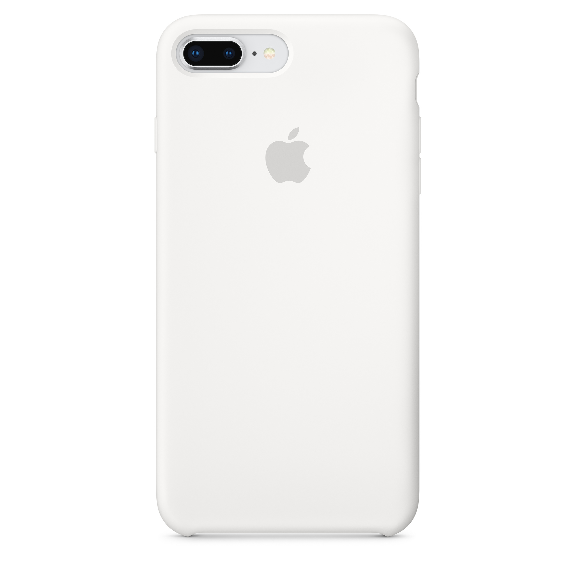 new products 747ec d3dd7 iPhone 8 Plus / 7 Plus Silicone Case - White