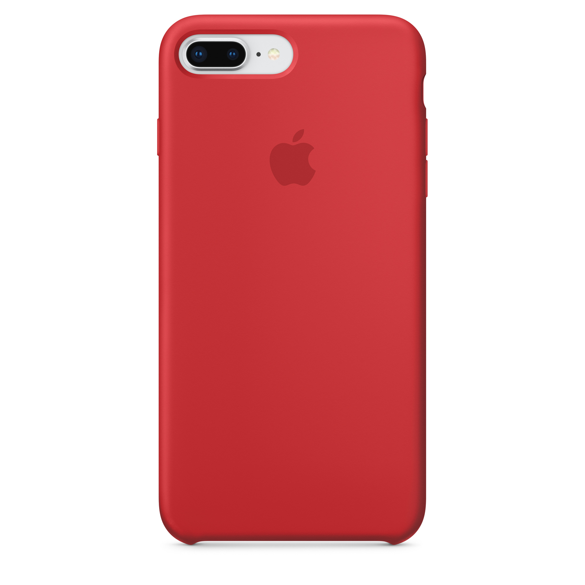 iPhone 8 Plus / 7 Plus Silicone Case — (PRODUCT)RED