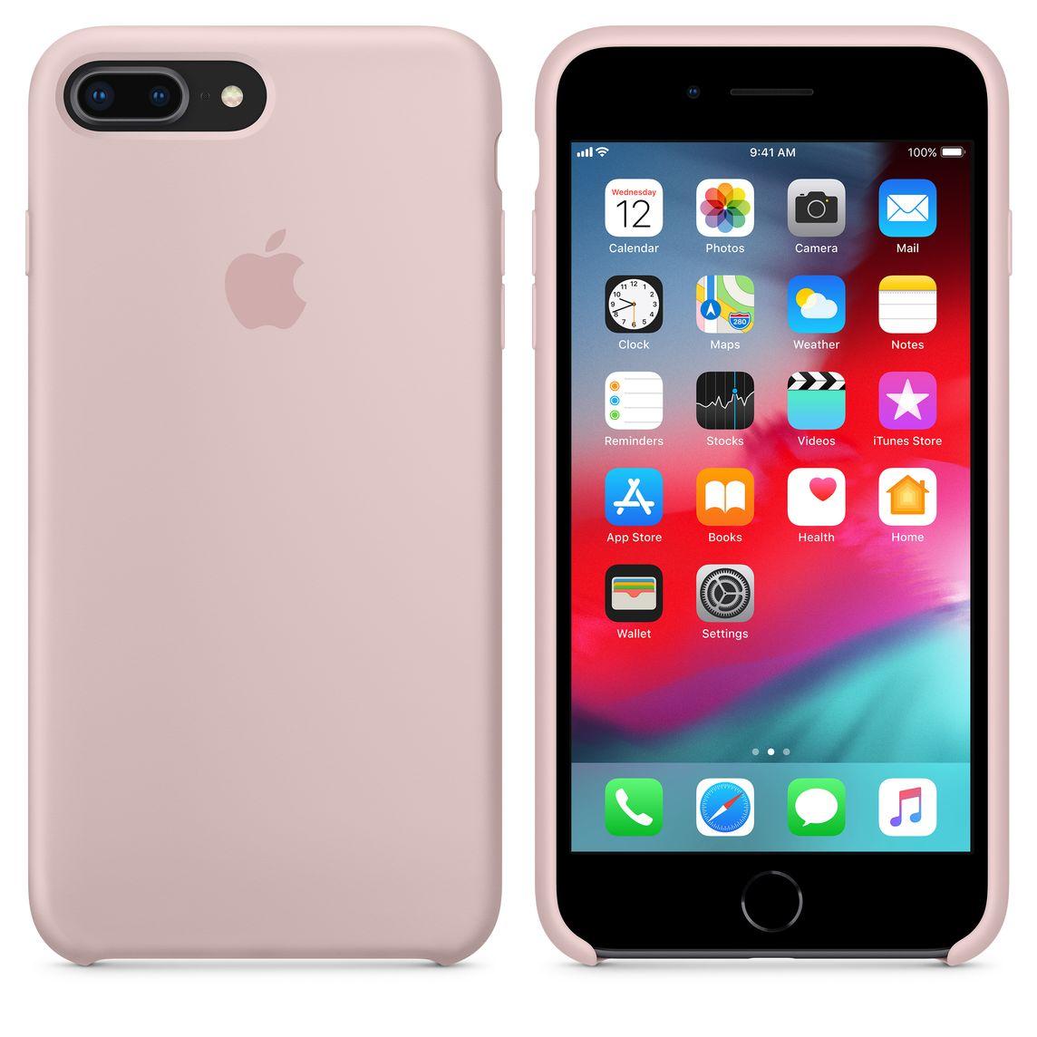 separation shoes f5cec ec1b8 iPhone 8 Plus / 7 Plus Silicone Case — Pink Sand