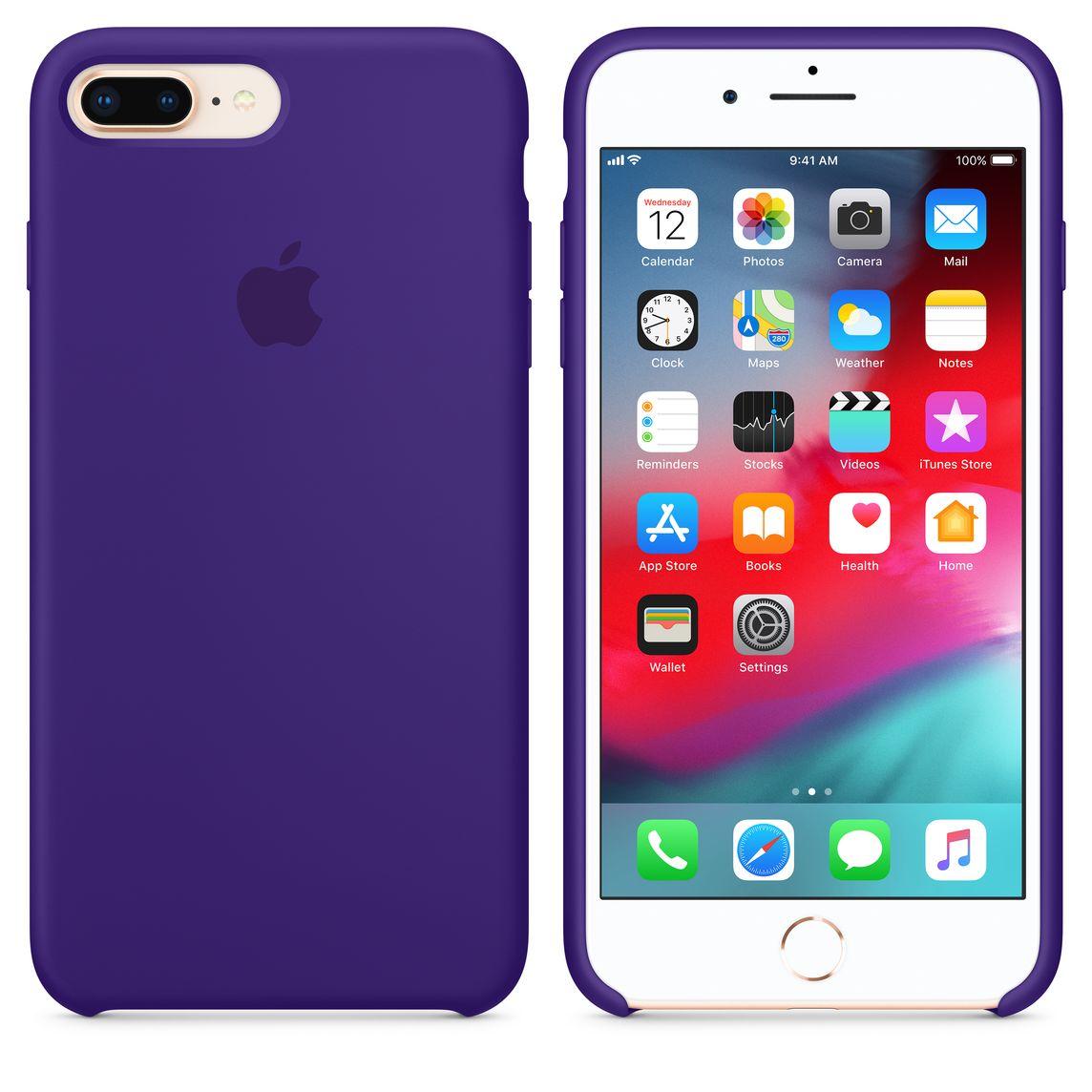 hot sale online 6b35c 3b5a5 iPhone 8 Plus / 7 Plus Silicone Case - Ultra Violet