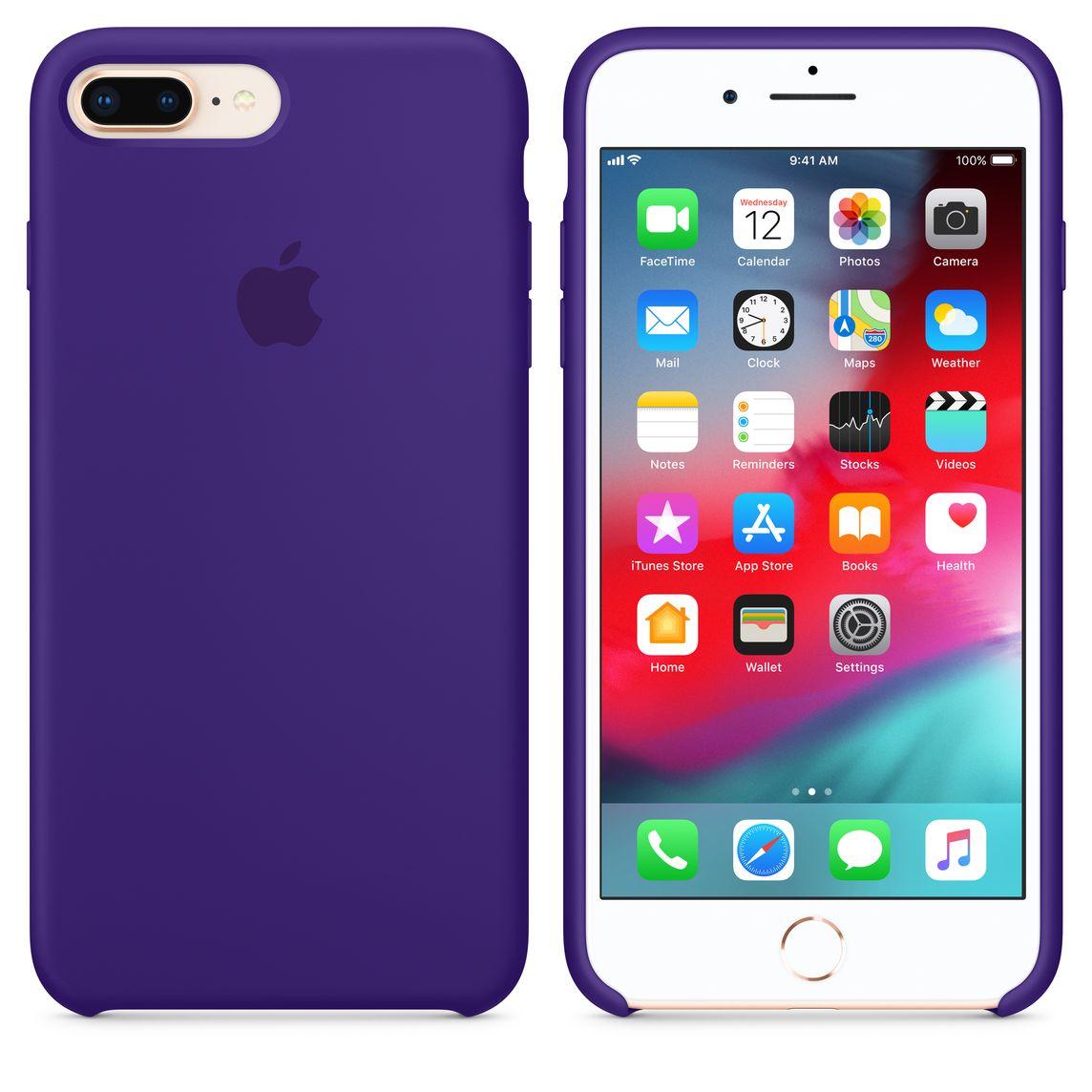 hot sale online fff85 5234d iPhone 8 Plus / 7 Plus Silicone Case - Ultra Violet
