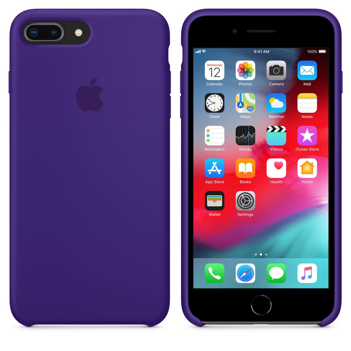 on sale 3dbde 94acd iPhone 8 Plus / 7 Plus Silicone Case — Ultra Violet