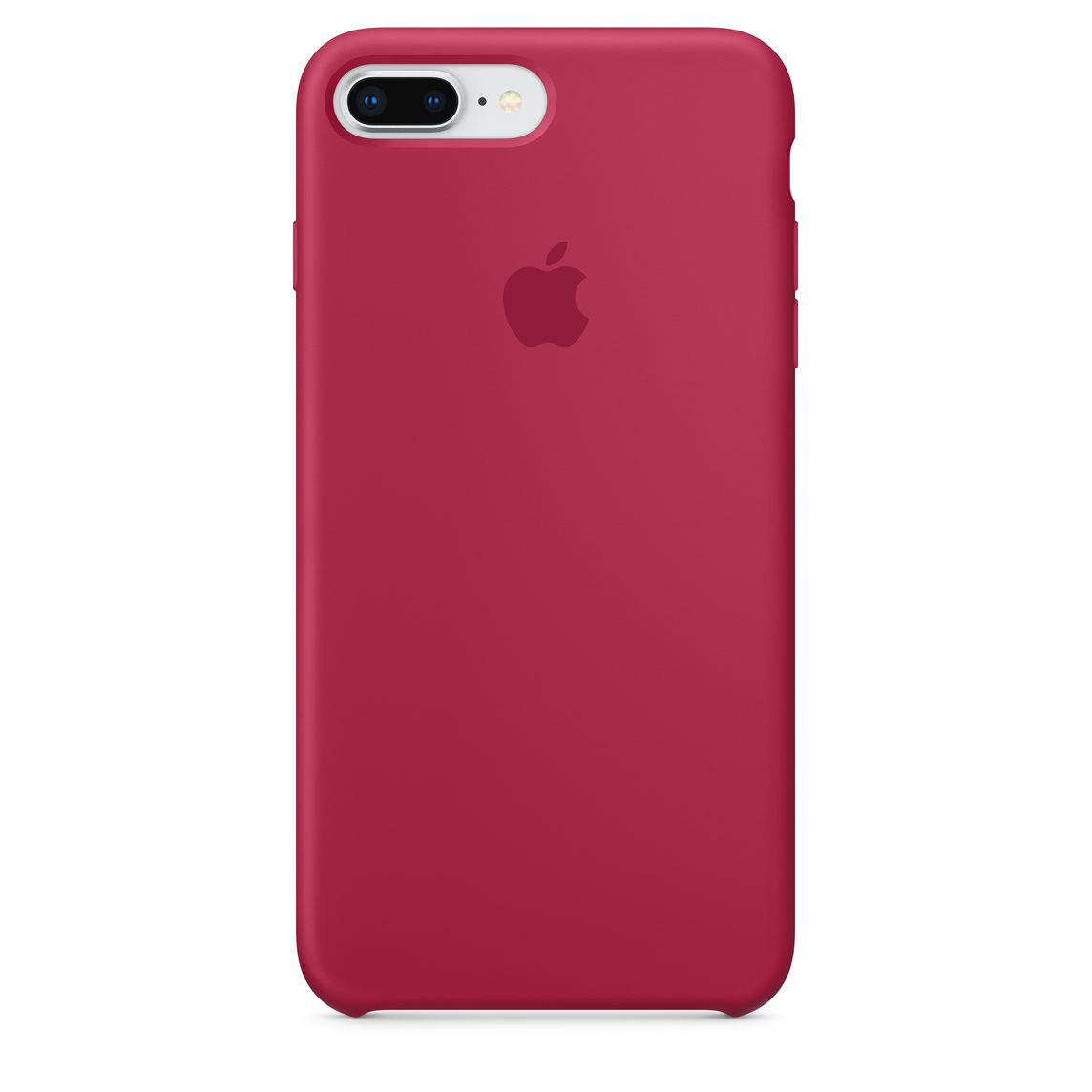 iPhone 8 Plus / 7 Plus Silicone Case - Rose Red