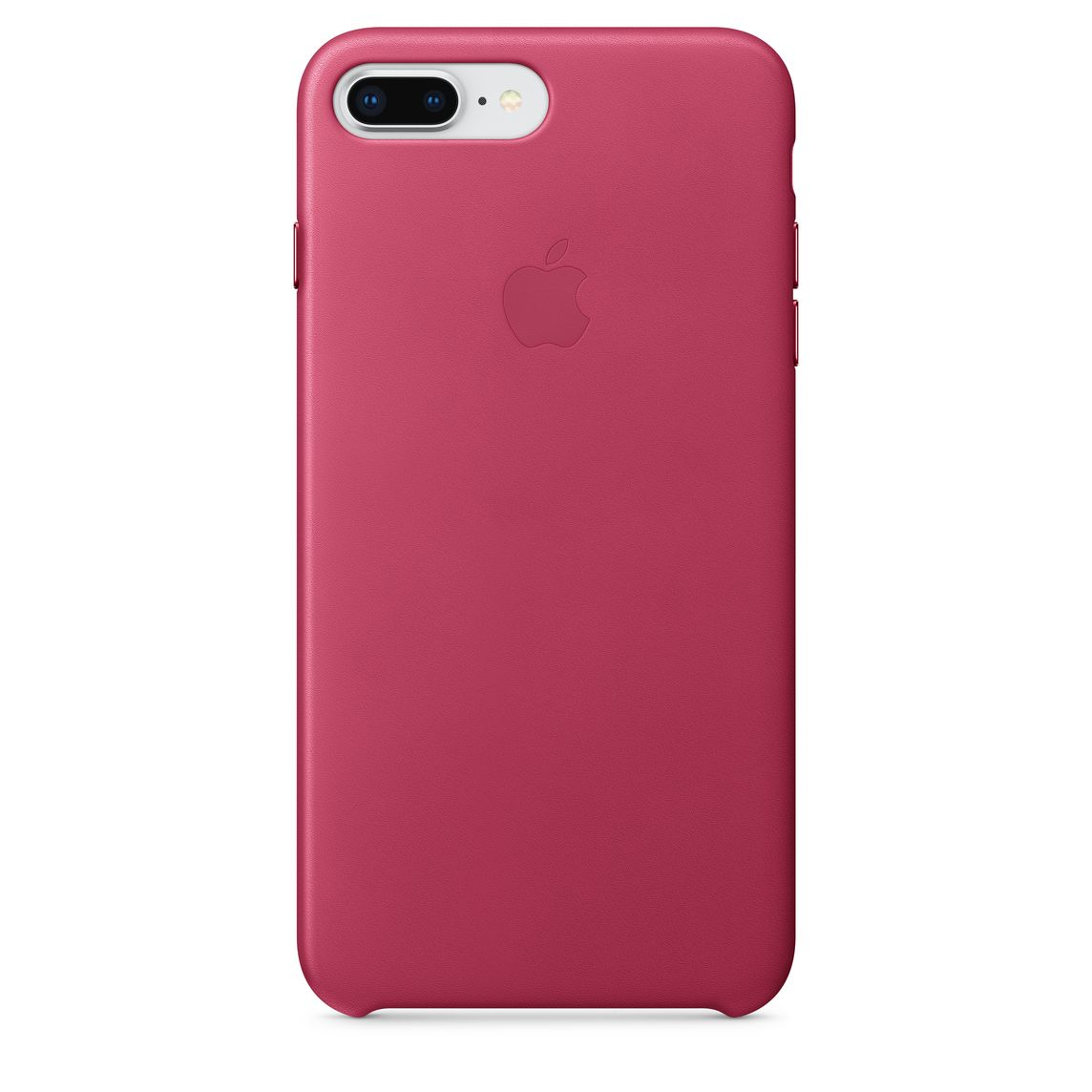 brand new 45ebd 50bbf iPhone 8 Plus / 7 Plus Leather Case - Pink Fuchsia
