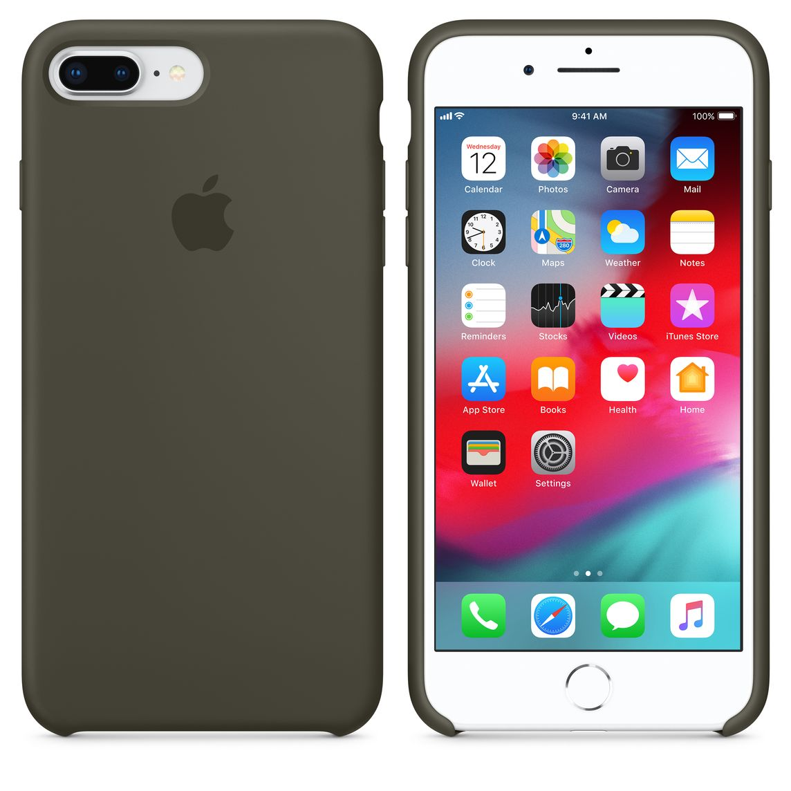 check out 78d05 75542 iPhone 8 Plus / 7 Plus Silicone Case — Dark Olive