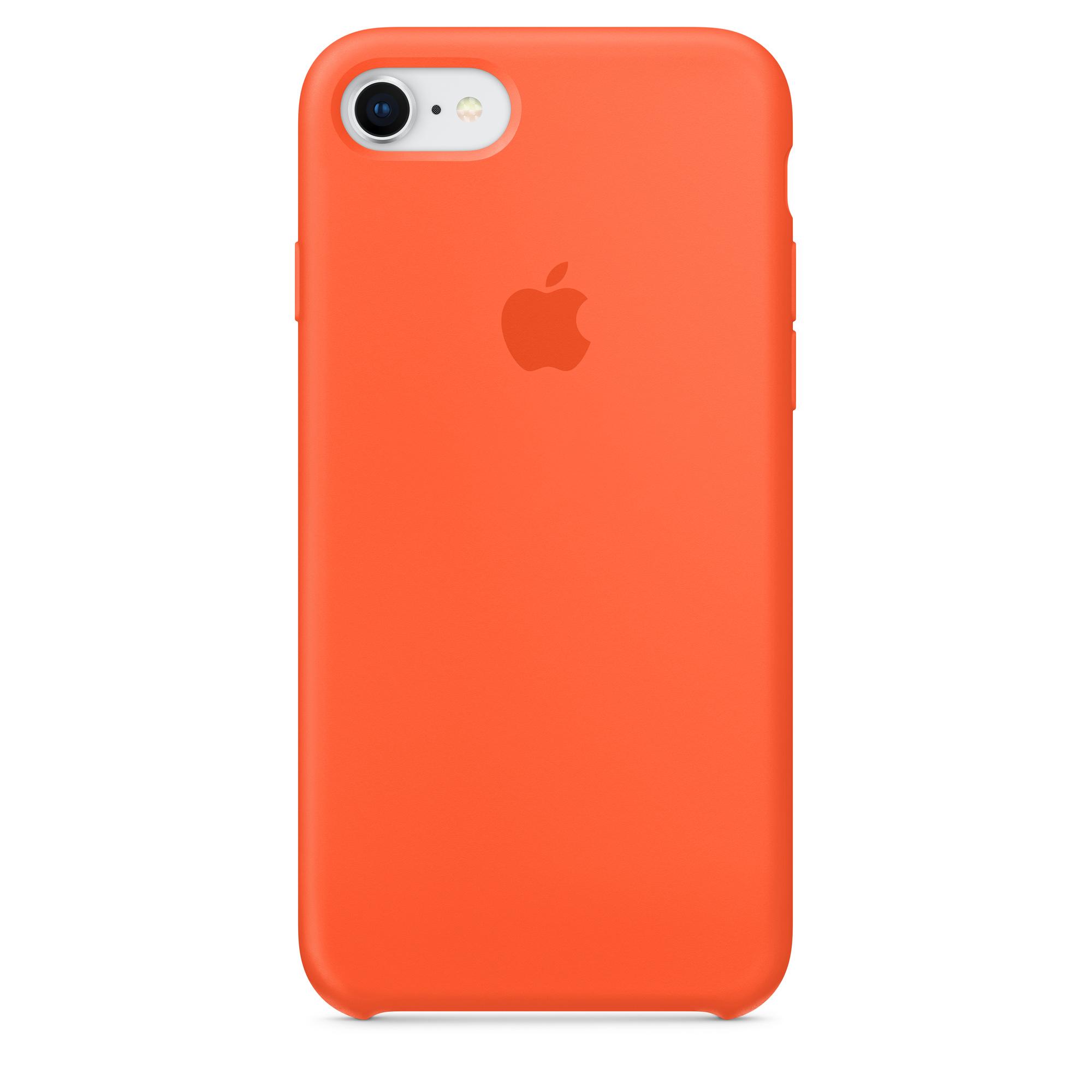iPhone 8 / 7 Silicone Case - Spicy Orange