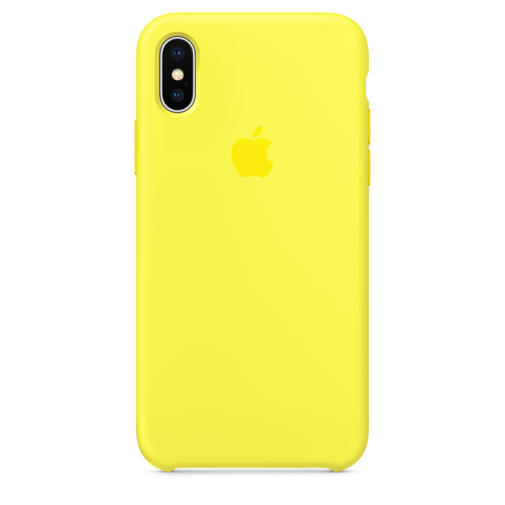 cheap for discount 692bc 83b70 iPhone X Silicone Case - Flash