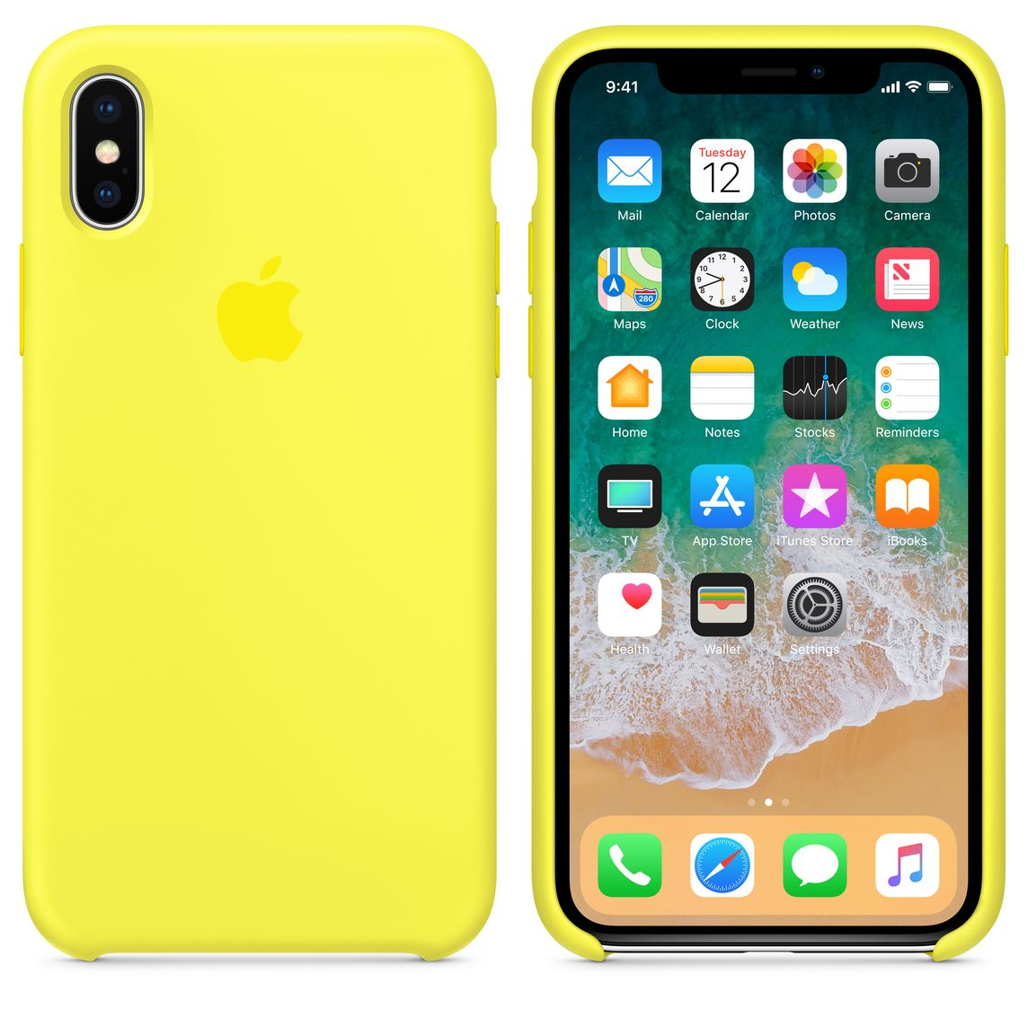 best service 66cef 36070 iPhone X Silicone Case — Flash