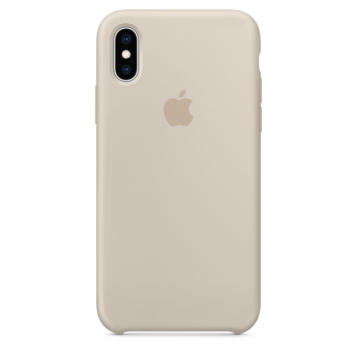 buy online 72347 86f3f iPhone XS Silicone Case - Stone
