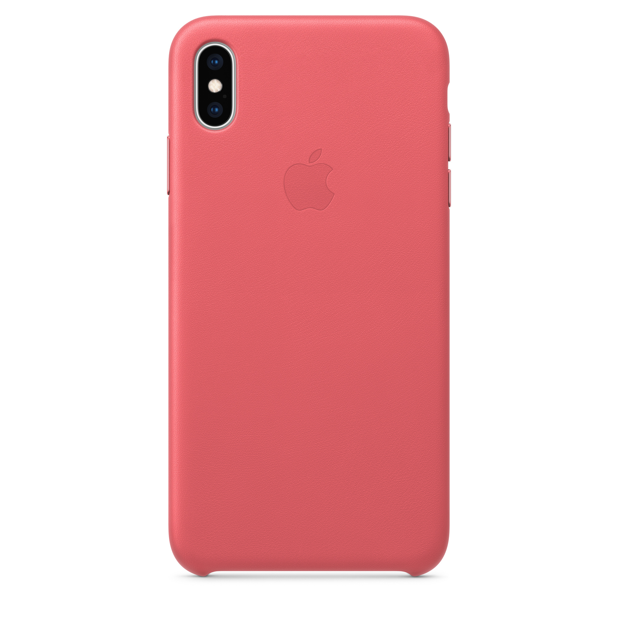best sneakers e2bdc a9e1f iPhone XS Max Leather Case — Peony Pink